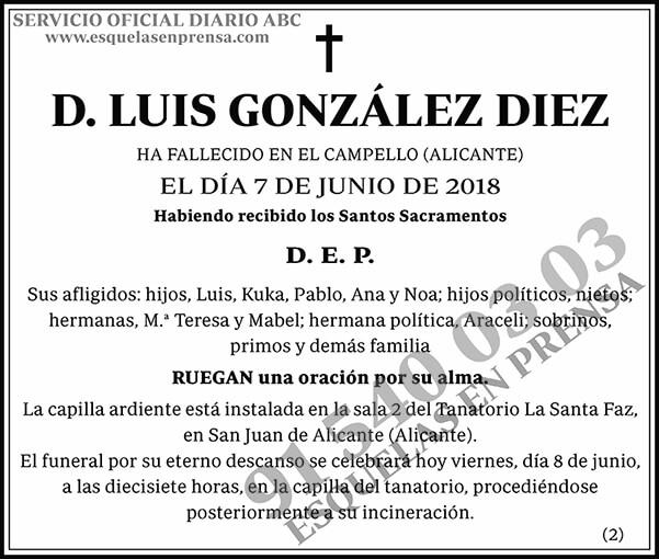 Luis González Diez